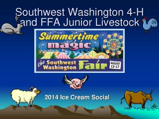 Southwest Washington 4-H and FFA Junior Livestock