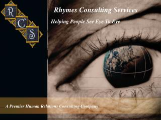 Rhymes Consulting Services