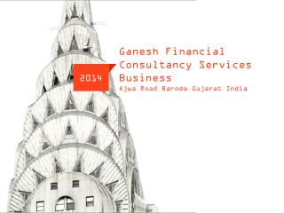 Ganesh  Financial Consultancy Services Business Ajwa  Road Baroda Gujarat India
