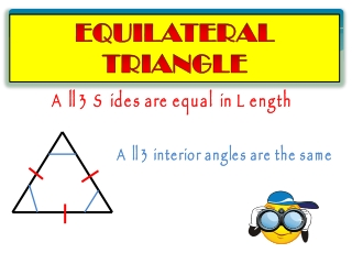 All 3 Sides are equal in Length