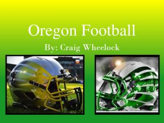 Oregon Football