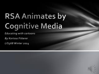 RSA Animates by Cognitive Media