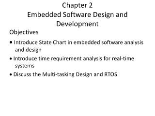 Chapter 2  Embedded Software Design and Development