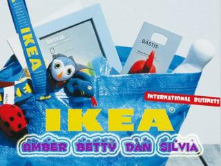 Introduction & History IKEA's Layout Company Analysis SWOT Industry Analysis IKEA's Competitors Cultural Perspec