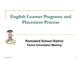 English Learner Programs and Placement Process