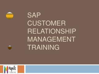 sap crm online training in mumbai