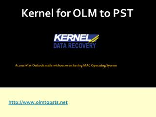 How to Convert OLM to PST File?