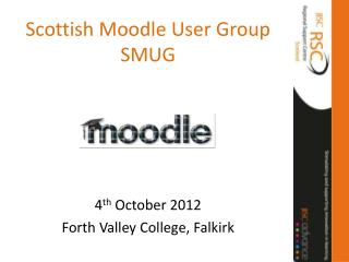 Scottish Moodle User Group SMUG