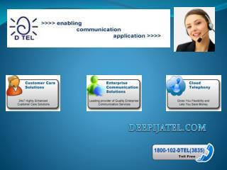 •Interactive Voice Response(IVR) Software Services