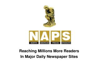 Reaching Millions More Readers In Major Daily Newspaper Sites