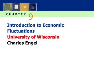 Introduction to Economic Fluctuations University of Wisconsin Charles Engel