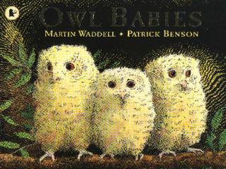 Once there were three baby owls: Sarah and Percy and Bill.
