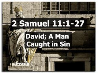 2 Samuel 11:1-27