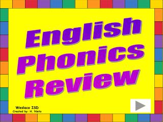 English  Phonics  Review