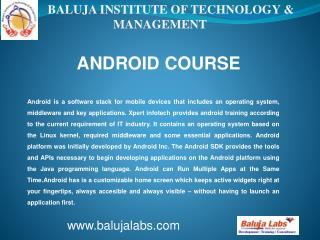 Android institute in Delhi, android institute in janakpuri