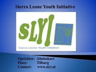 Sierra  Leone Youth  Initiative