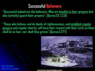 Successful Believers