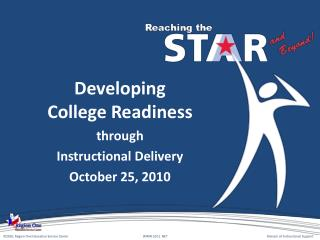 Developing  College Readiness