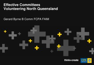 Effective Committees Volunteering North Queensland