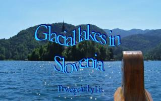 Glacial lakes in  Slovenia