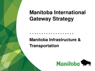 Manitoba International Gateway Strategy