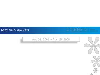 DEBT FUND ANALYSIS