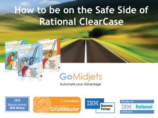 How to be on the Safe Side of Rational ClearCase