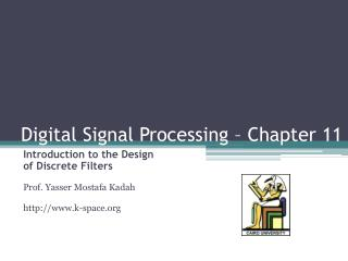 Digital Signal Processing – Chapter 11