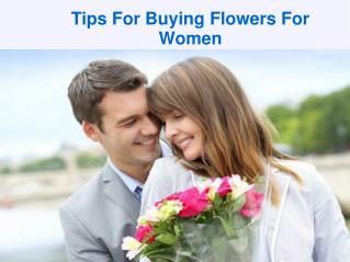 Tips For Buying Flowers For Women