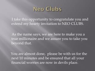 Neo Clubs
