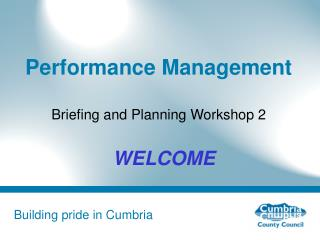 P erformance Management