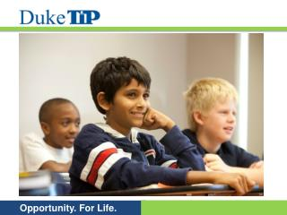 What is Duke TIP?