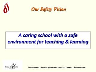 Our Safety Vision