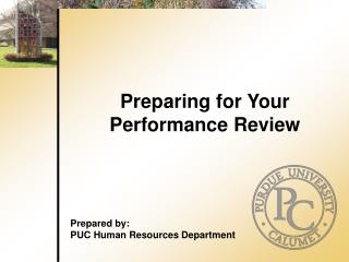 Preparing for Your Performance Review