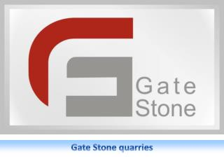 Gate Stone quarries