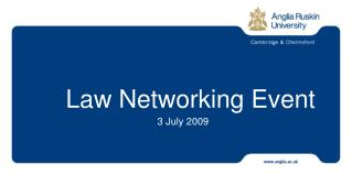 Law Networking Event