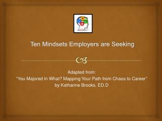 Ten Mindsets Employers are Seeking