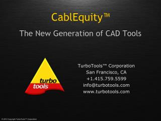 The New Generation of CAD Tools