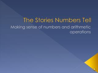 The Stories Numbers Tell
