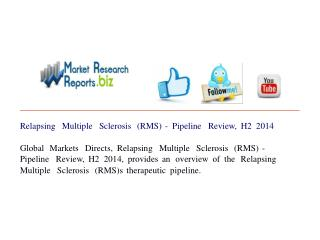 Relapsing Multiple Sclerosis (RMS) - Pipeline Review, H2 201