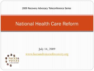National Health Care Reform