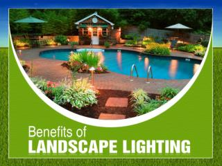 Benefits of Landscape Lighting Installation in Michigan