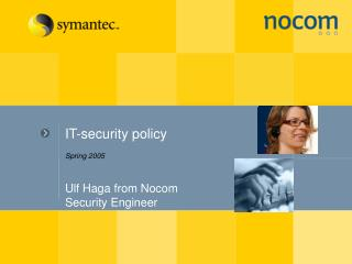 Ulf Haga from Nocom Security Engineer
