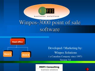 Winpos-3000 point of sale  software