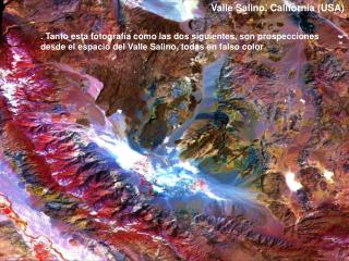 Valle Salino. California (USA)