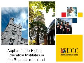 Application to Higher Education Institutes in the Republic of Ireland