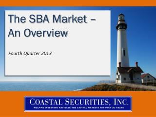 The SBA Market – An Overview