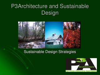 P3Architecture and Sustainable Design