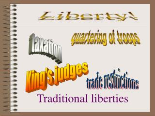 Traditional liberties