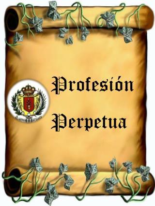 Profesión Perpetua